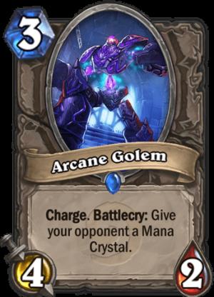 Arcane Golem Card