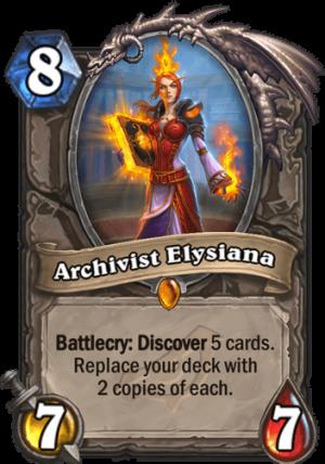 Archivist Elysiana Card