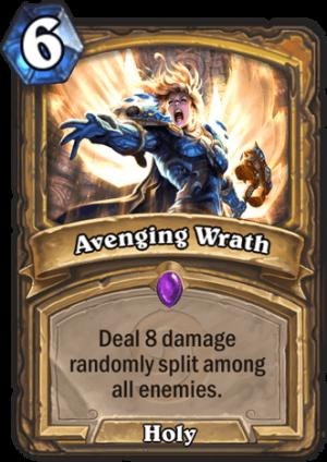 Avenging Wrath Card