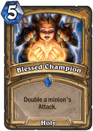 Blessed Champion Card