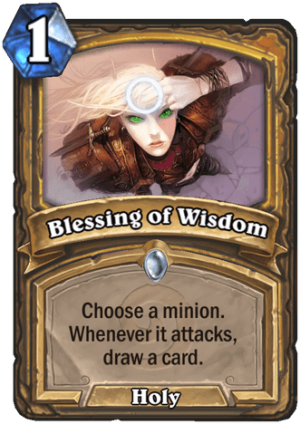 Blessing of Wisdom Card