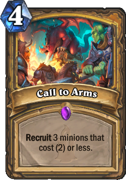 Call to Arms Card