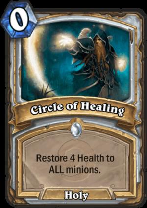 Circle of Healing Card