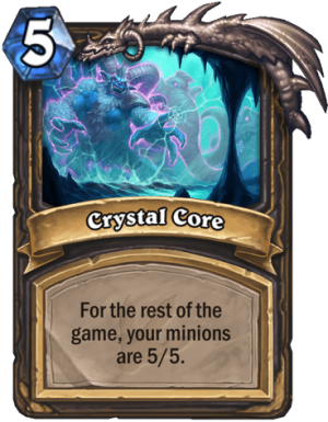 Crystal Core Card
