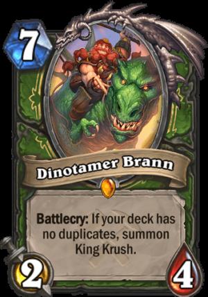 Dinotamer Brann Card