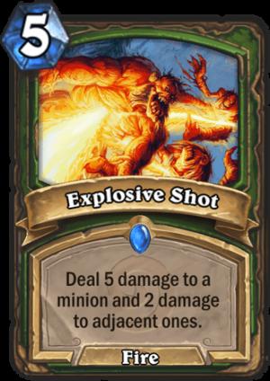 Explosive Shot Card