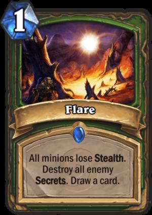 Flare Card