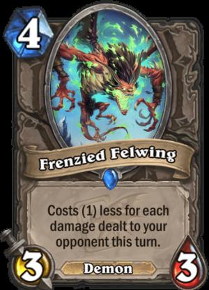 Frenzied Felwing Card