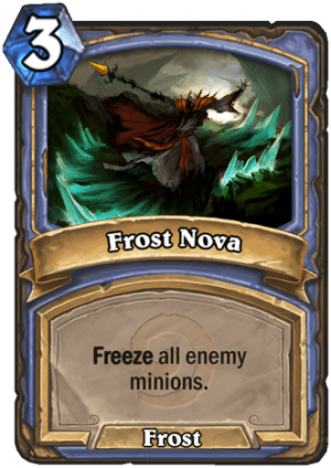 Frost Nova Card