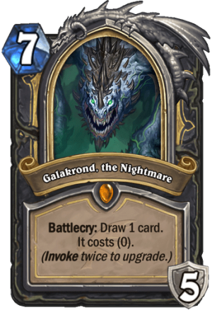 Galakrond, the Nightmare Card