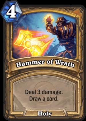 Hammer of Wrath Card
