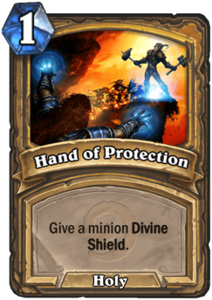 Hand of Protection Card