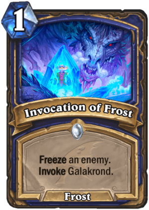 Invocation of Frost Card