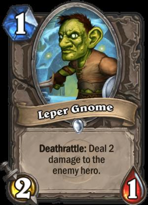 Leper Gnome Card