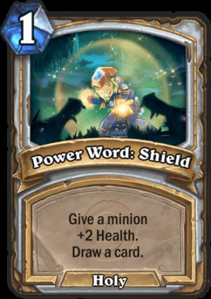 Power Word: Shield Card