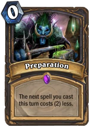 Preparation Card