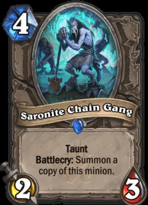 Saronite Chain Gang Card