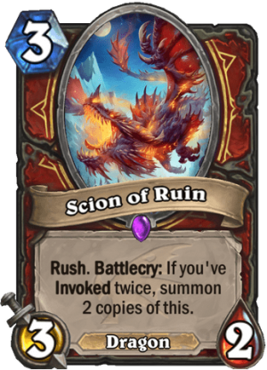 Scion of Ruin Card