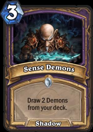 Sense Demons Card