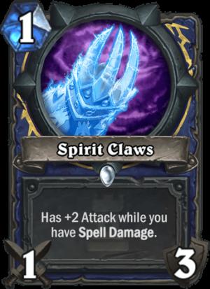 Spirit Claws Card
