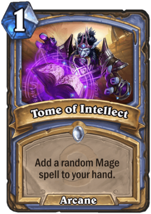 Tome of Intellect Card