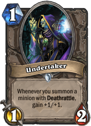 Undertaker Card