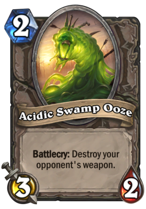 Acidic Swamp Ooze Card