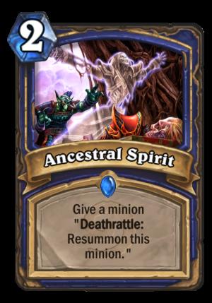 Ancestral Spirit Card