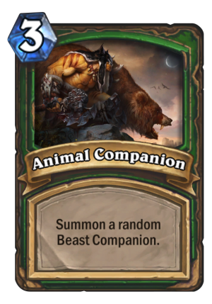Animal Companion Card