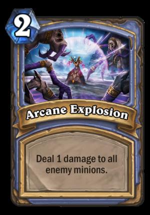 Arcane Explosion Card