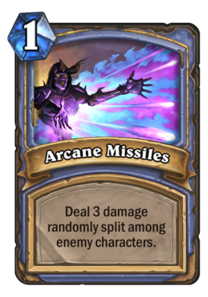 Arcane Missiles Card