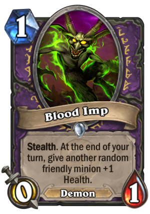 Blood Imp Card