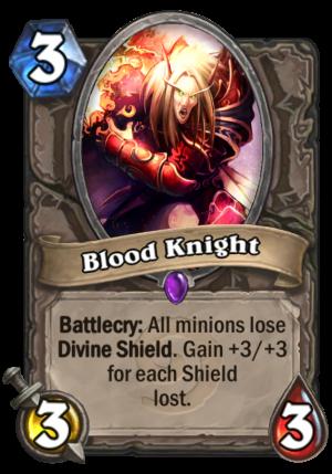 Blood Knight Card