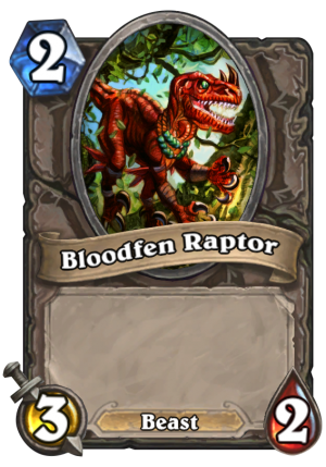 Bloodfen Raptor Card