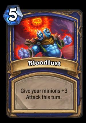 Bloodlust Card