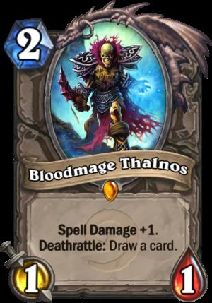 Bloodmage Thalnos Card