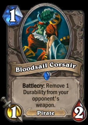 Bloodsail Corsair Card
