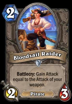 Bloodsail Raider Card