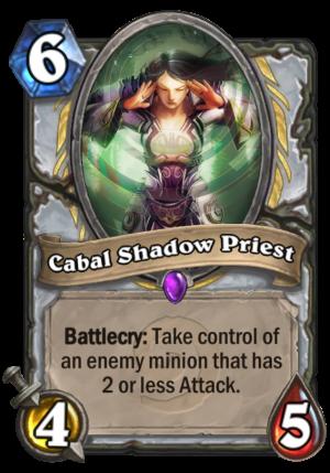 Cabal Shadow Priest Card