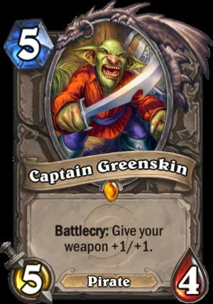 Captain Greenskin Card