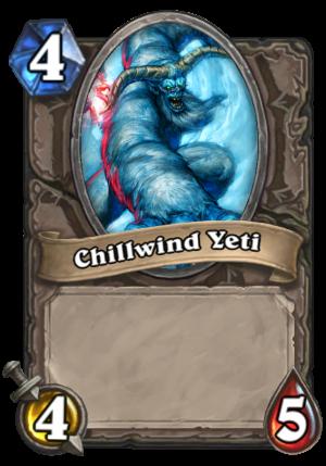 Chillwind Yeti Card