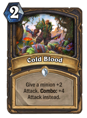 Cold Blood Card