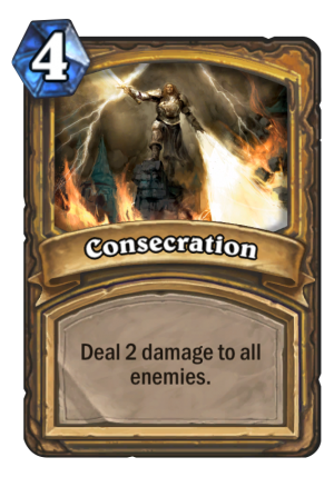 Consecration Card