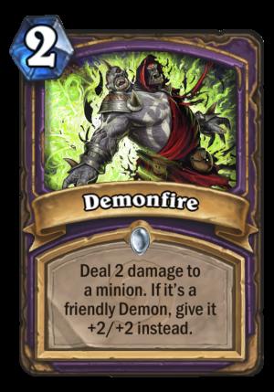 Demonfire Card
