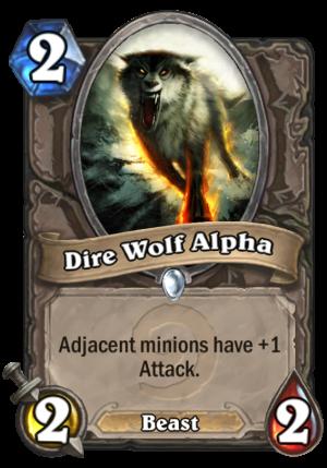 Dire Wolf Alpha Card