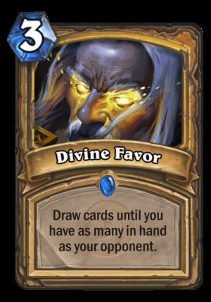 Divine Favor Card