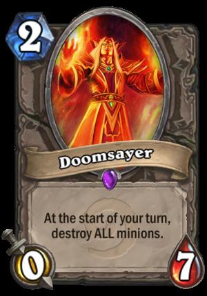 Doomsayer Card