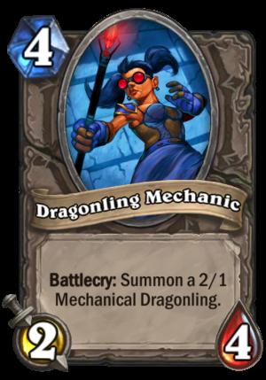 Dragonling Mechanic Card