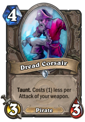 Dread Corsair Card