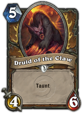 Druid of the Claw (Bear) Card